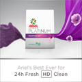 Ariel's Best Ever for 24h Fresh HD Clean