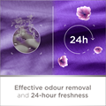Effective odour removal and 24-hour freshness
