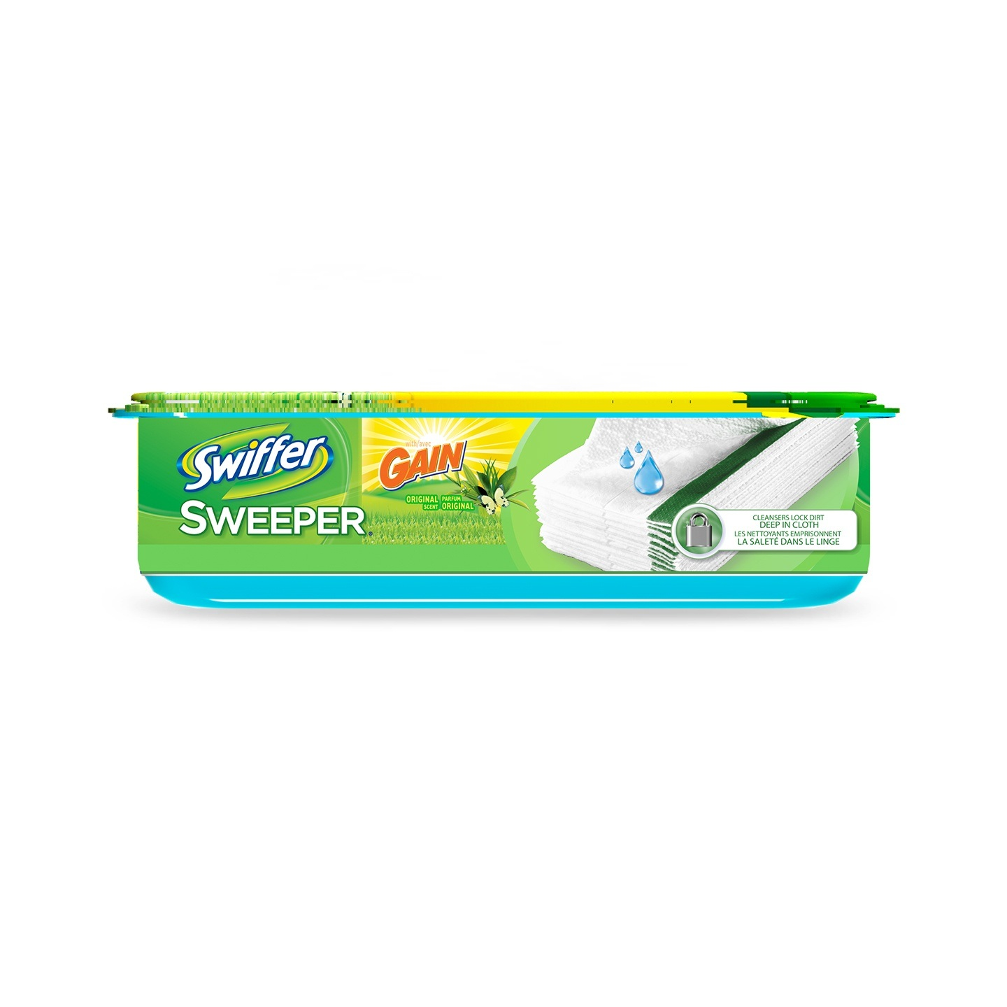 Repuestos Swiffer Wet con aroma Gain Original