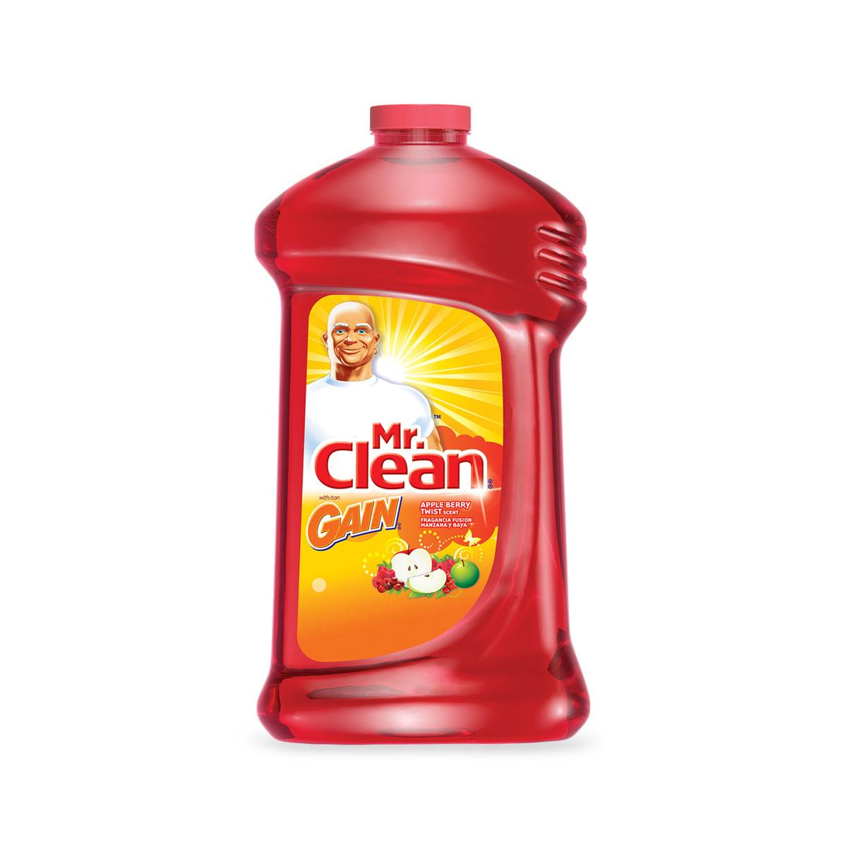 Limpiador líquido Mr. Clean con aroma Gain Apple Berry Twist