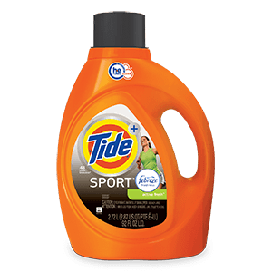 Tide Plus Febreze Sport Active Fresh High Efficiency Liquid Laundry Detergent