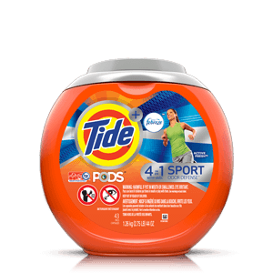 Tide PODS® Plus Febreze Odor Defense