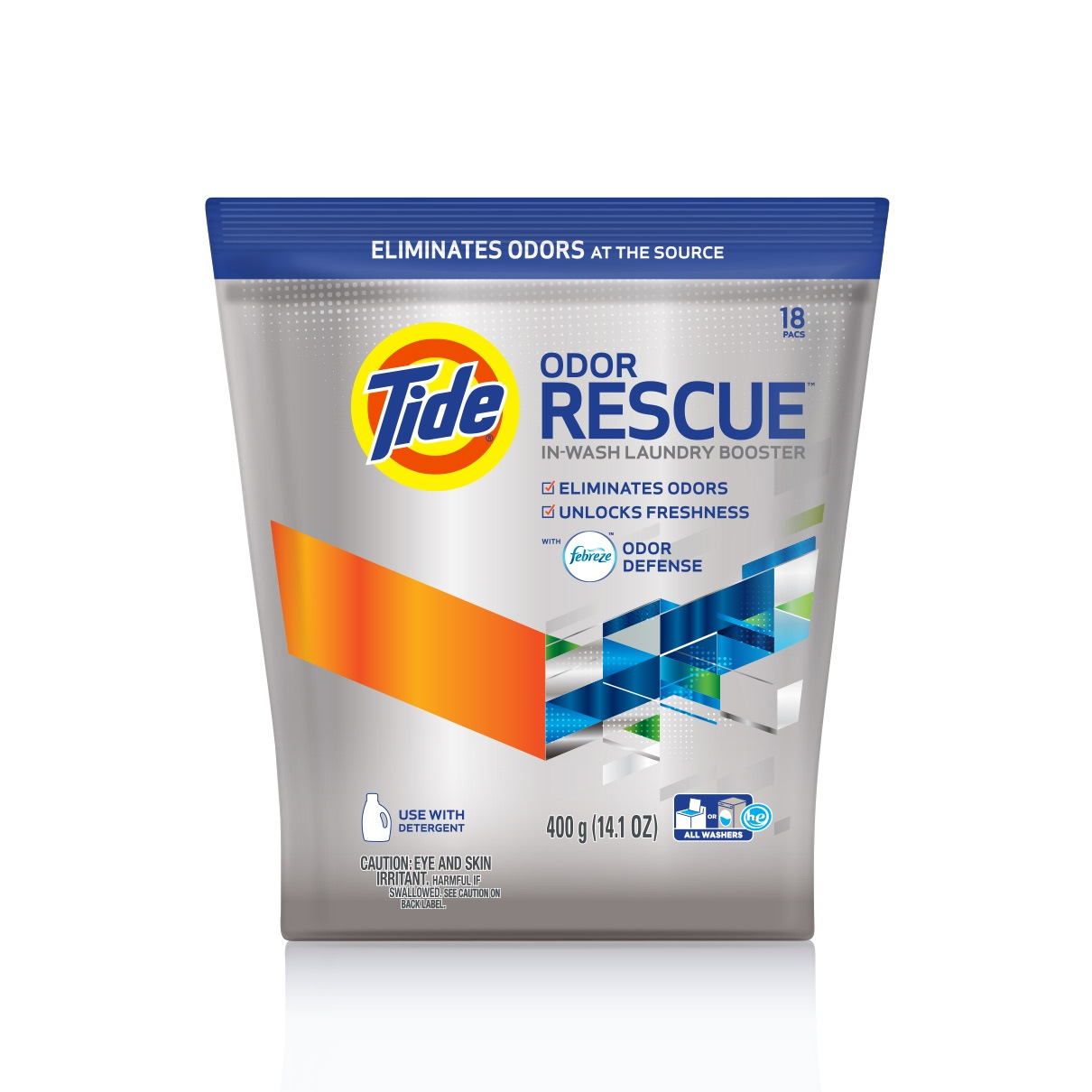 Tide Odor Rescue™ con Febreze Odor Defense™
