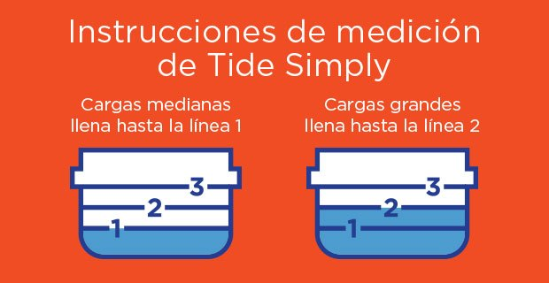 Tide Simply Measurement Instructions
