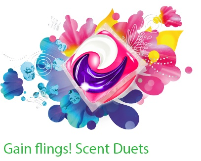 Description du produit Gain flings! Scent Duet