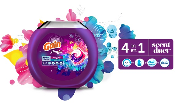 Gain flings! Scent Duet 4 en 1