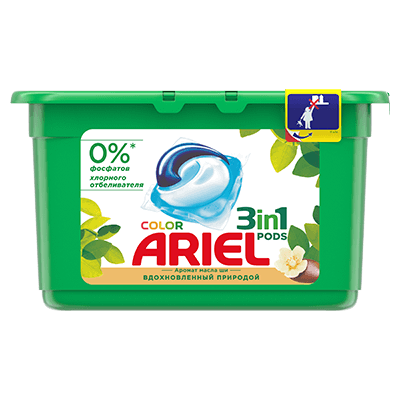 Ariel 3in1 PODS Shea Butter